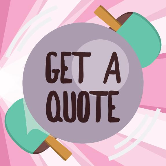 Quote For Building Work, Quote For Cleaner, Quote For